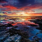 Kaikoura dawn blush by Ken Wright