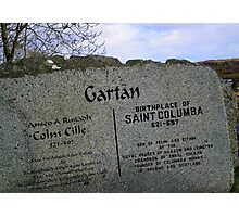 St Columcille #1 Photographic Print