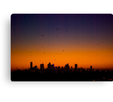 Melbourne Twilight Canvas Print