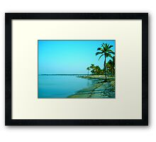 Paradise a.m. Framed Print