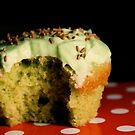 [eye candy] - Green Vanilla Cupcake by annalambert