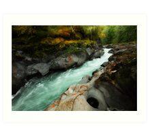 Qu'wutsun River I Art Print