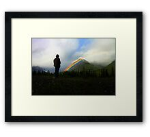 Out of the Storm: An Unexpected Allegory Framed Print