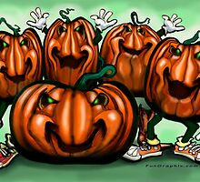 Pumpkin Party by Kevin Middleton
