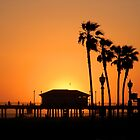 Huntington Beach Sunset by photographyfree