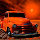 1950 Chevrolet Pickup Truck &quot;Orange Juice&quot; by TeeMack