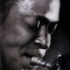 Miles Davis by Artist Soap