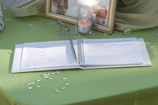 Guest Book by DariaGrippo