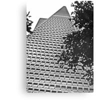 Urban Living in San Francisco - TransAmerica Pyramid Canvas Print