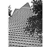 Urban Living in San Francisco - TransAmerica Pyramid Photographic Print