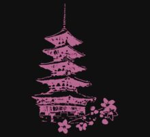 Pink Pagoda by Phantom Spaceship Design