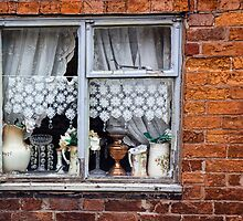 Jugs In The WIndow by Lynne Morris