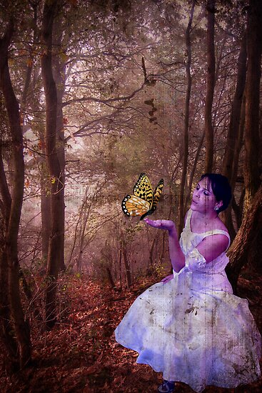 The Bride and The Butterfly by Gal Lo Leggio