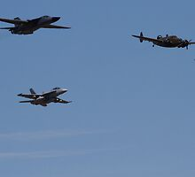 RAAF Formation Fly-by by Daniel McIntosh