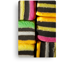 Allsorts of colours Canvas Print