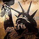 New York - Liberty by Angel Benavides