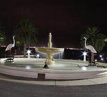 Eastern Beach Fountain, Geelong, Vic by Ian Williams