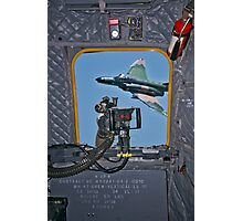 Side Gunner's View Photographic Print