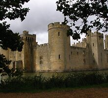 Bodiam Castle, Sussex, England by wiggyofipswich