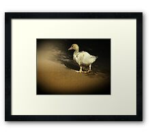I know my feet look big in this......Butt ? Framed Print