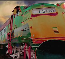 Bound For Glory-An Old Locomotive by Ron Day
