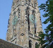 Clocktower - Yale University by ellyd