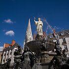 Fountain on Place Royale by Stefan Trenker