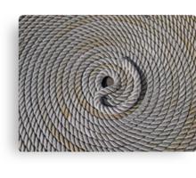 Re-Coil Canvas Print