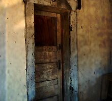 Door ~ Ruby, Arizona by Lucinda Walter