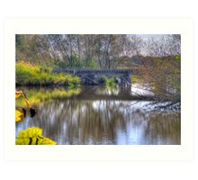 Country Trestle Art Print