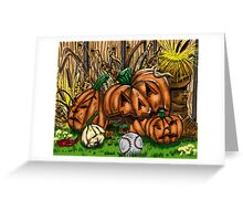 """October Essence"" Greeting Card"