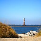 The Lighthouse on Morris Island Charleston by Susanne Van Hulst