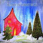 SEASONS GREETINGS- Acrylic Painting by Esperanza Gallego