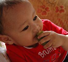 cute baby by bayu harsa