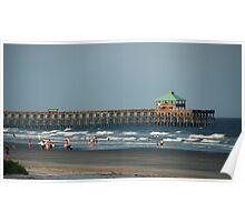 Folly Beach Pier Poster