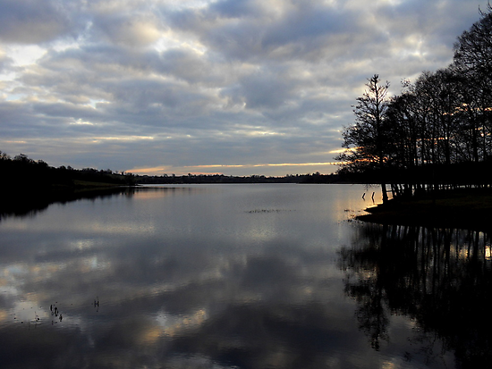 Gulladoo Lake at sunset by Julesrules