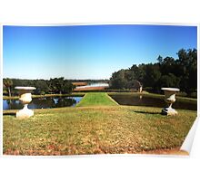 Looking down to the Ashley River - Middleton Place Charleston Poster