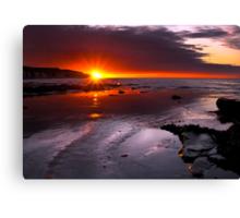 Amazing Sunrise Canvas Print