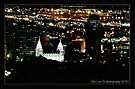 Light in the Darkness ~ Salt Lake City, Utah at Night by Jan  Tribe