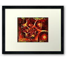 Autumn Oak Framed Print