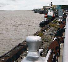 Tug Boat at Dock by kpitre