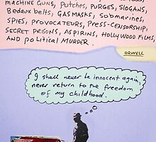 orwellian quote by Loui  Jover