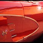 Sunset Corvette by Tess Buckler