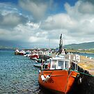 Valentia Boats by Orla Flanagan