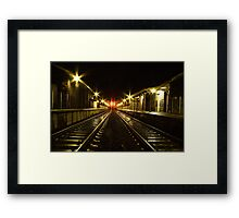 Little River Railway Station - Geelong (Australia)  Framed Print