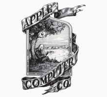 First Apple logo by wildmartin