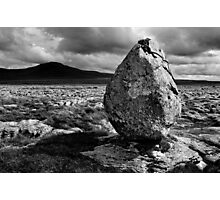 Ingleborough from Twisleton Scar, Yorkshire Dales Photographic Print