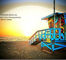 Lifeguard Station 16 ST Hermosa Beach, CA./ Collection by Rita  H. Ireland