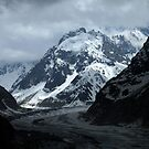 Mont Blanc Massif and Mer de Glace by Linda More