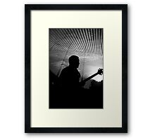 Bricks in the Wall - Shadow Framed Print